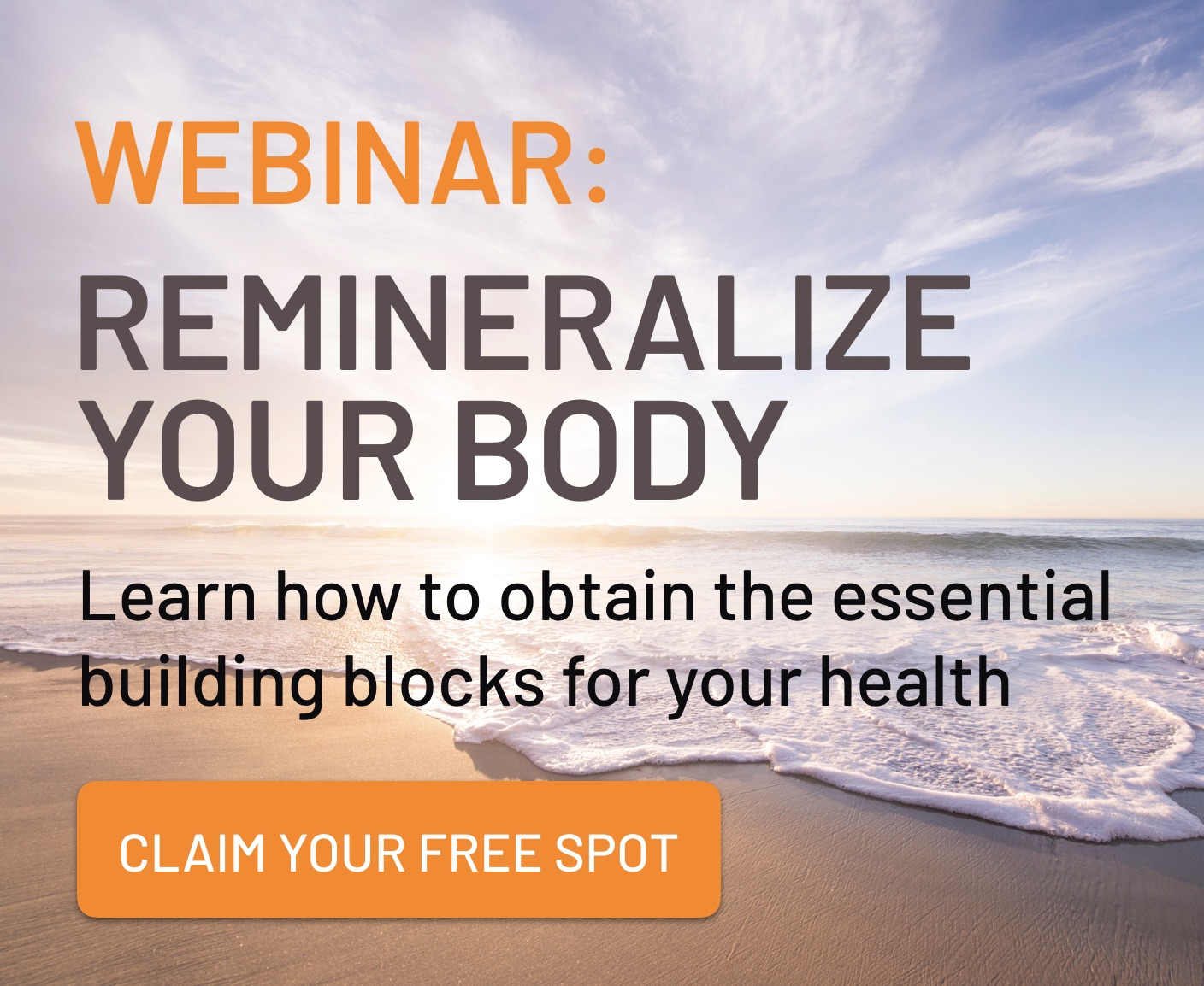 FREE webinar with Dr. Carolyn Dean